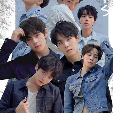 Cartel del grupo BTS: Love Yourself Tear Edit de KpopTokens