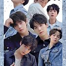 BTS Group Poster : Love Yourself Tear Edit (2) by KpopTokens