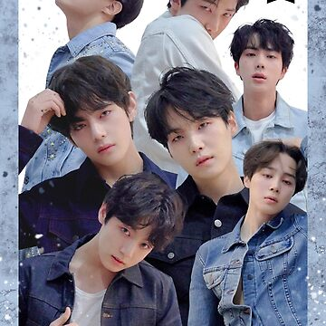 Cartel del grupo BTS: Love Yourself Tear Edit (2) de KpopTokens