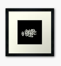 Diamonds pack CU Framed Print