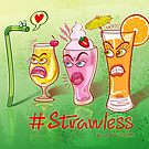 Plastic straw rejected when flirting with drinks by Zoo-co