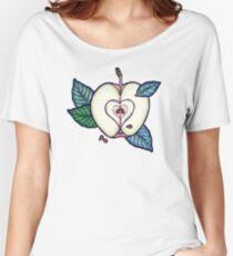 apple dream garden Women's Relaxed Fit T-Shirt