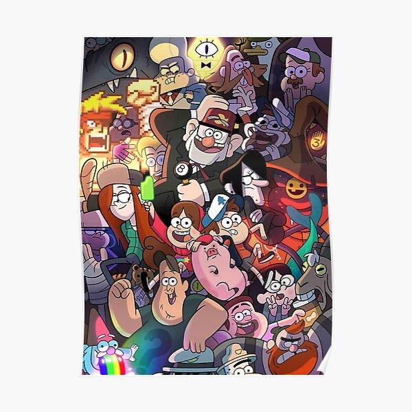 Gravity Falls y amigos Póster