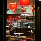 A Cafe at Murray Street Mall, Perth by Vivek Bakshi
