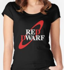 Red Dwarf Fitted Scoop T-Shirt