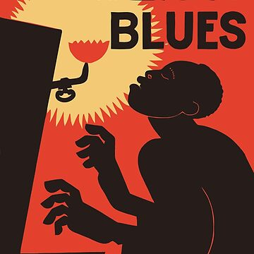 Retro The Weary Blues (music) by aapshop