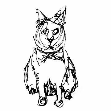 Fancy Cat by tacostudio