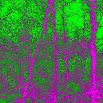 Acid Forest by hoganartgarage