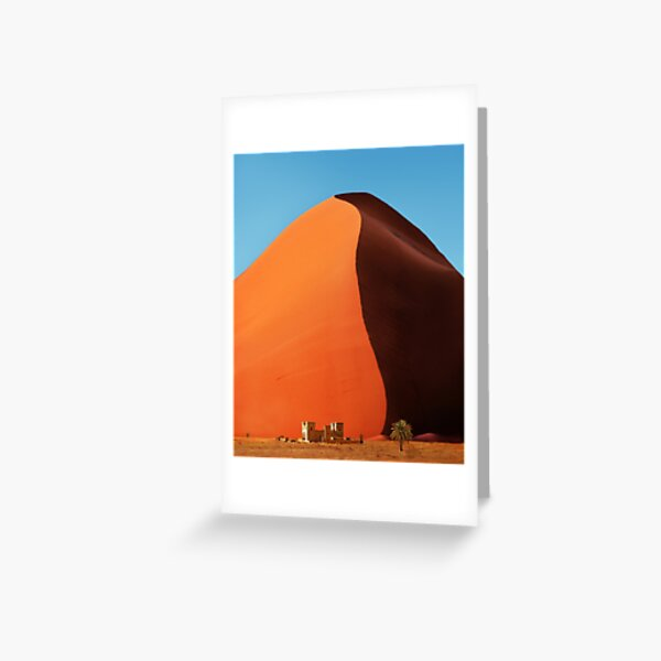 Out of Namibia Greeting Card