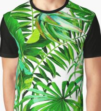 Tropical Power Graphic T-Shirt