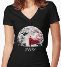 rwby Women's Fitted V-Neck T-Shirt