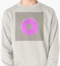 Pink bubble gum blot. Pullover