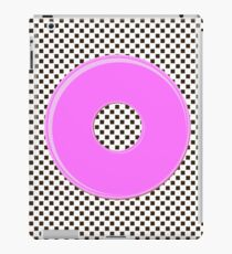 Pink bubble gum blot. iPad Case/Skin