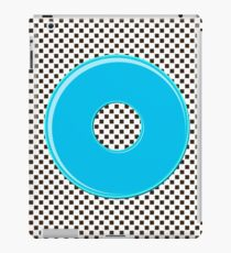 Blue bubble gum blot. iPad Case/Skin