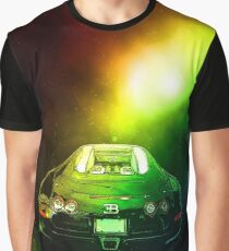 Bugatti In Space Graphic T-Shirt