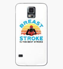 Bauch-Schlag-Schwimmer der Retro Frauen Hülle & Skin für Samsung Galaxy