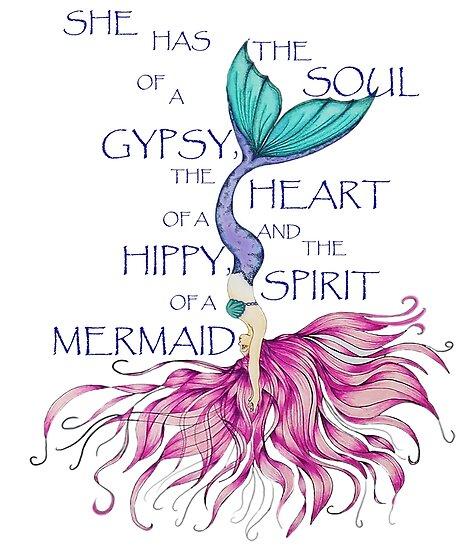 1e1a0241edb86 Mermaid Spirit HIppy Heart Gypsy Soul Diving Mermaid