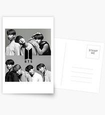 BTB Schwarz und Weiß Postkarten