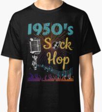 1950's Sock Hop Classic T-Shirt