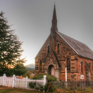 Hill End church by Michaelm43