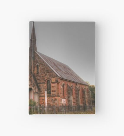 Hill End church Hardcover Journal