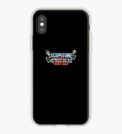 SCOPITONE IS NOT DEAD Coque et skin iPhone