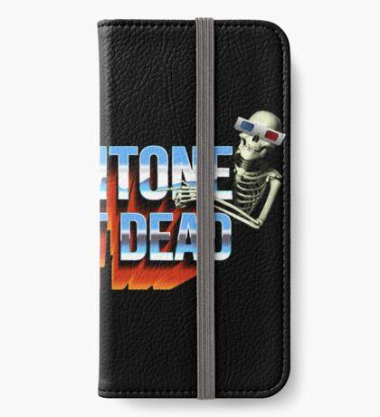 SCOPITONE IS NOT DEAD Étui portefeuille iPhone