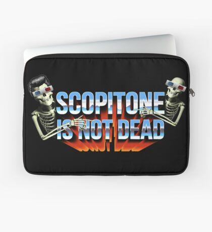 SCOPITONE IS NOT DEAD Housse de laptop