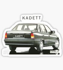 OPEL KADETT Sticker