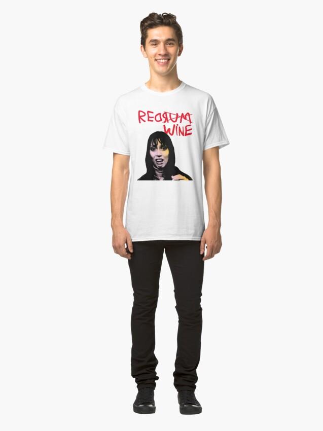 Alternate view of REDRUM REDWINE Classic T-Shirt