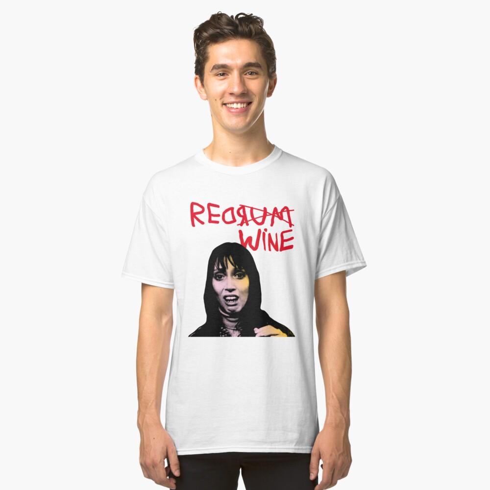 REDRUM REDWINE Classic T-Shirt