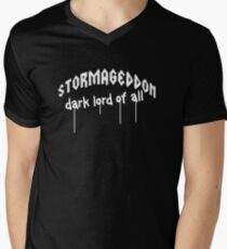 Stormageddon - Dark Lord of ALL V-Neck T-Shirt