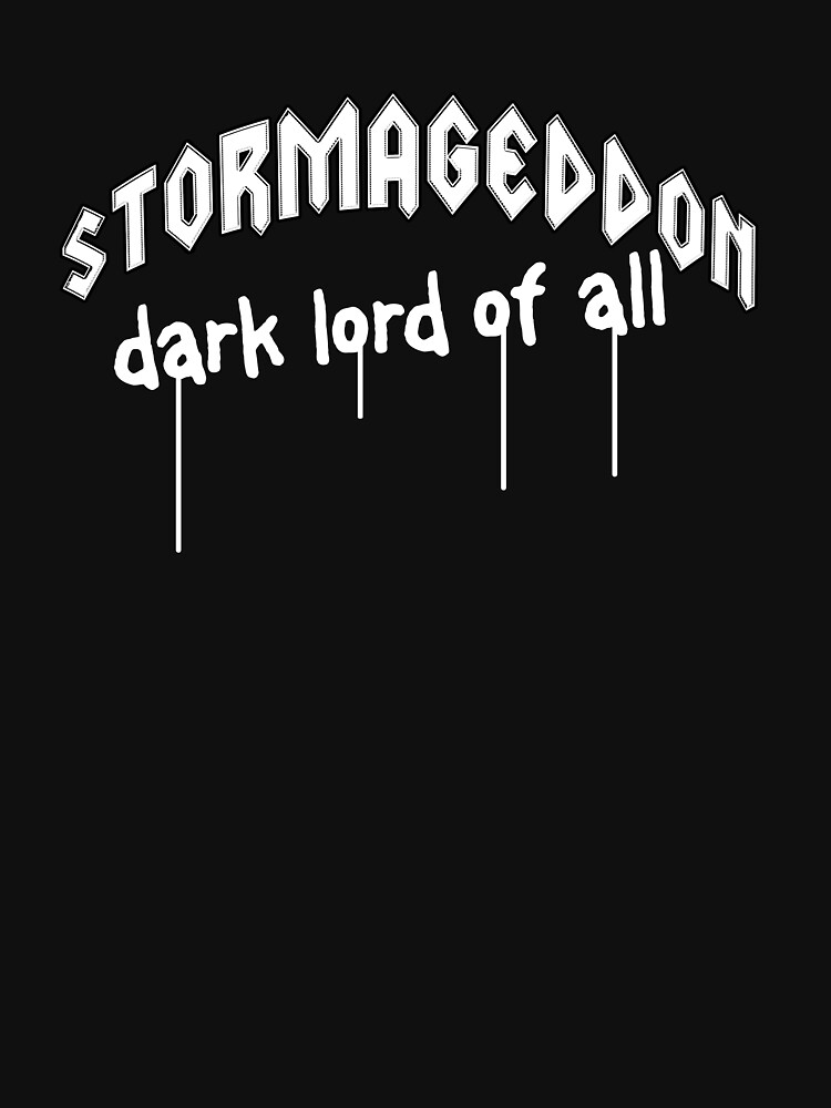 Stormageddon - Dark Lord of ALL by brianftang