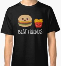Best Friends Burgers And Fries Classic T-Shirt