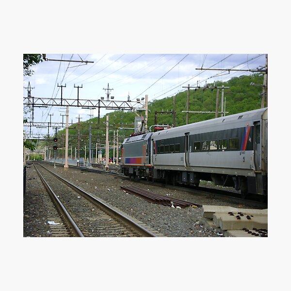 Next train to New York Photographic Print