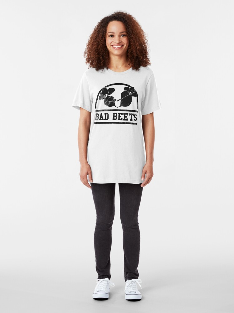 Alternate view of BAD BEETS Slim Fit T-Shirt