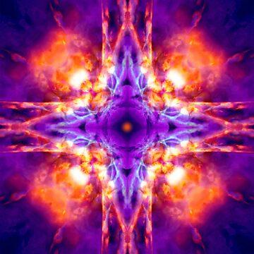 Kaleidoscope cross by steveball