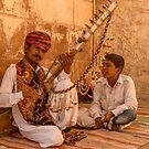 Mehrangarh Musician by Werner Padarin