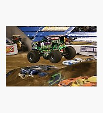 Monster Jam - Grave Digger 2010 Photographic Print