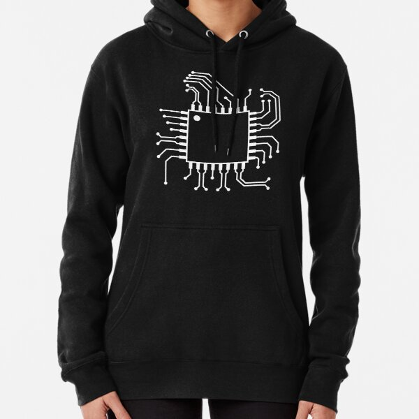 electronic circuit board engineering Pullover Hoodie