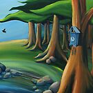 3pm Cuckoo by Sarah  Mac Illustration