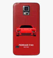 Ferrari F40 Case/Skin for Samsung Galaxy