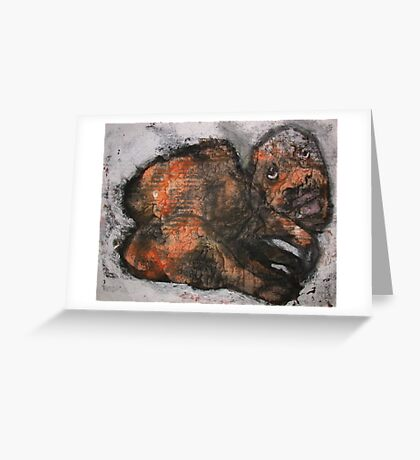 Scapegoat Greeting Card
