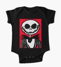 Jack on Red  One Piece - Short Sleeve