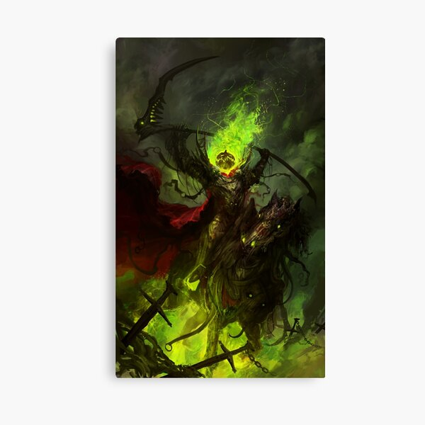 Lord Pumpkinspice Canvas Print