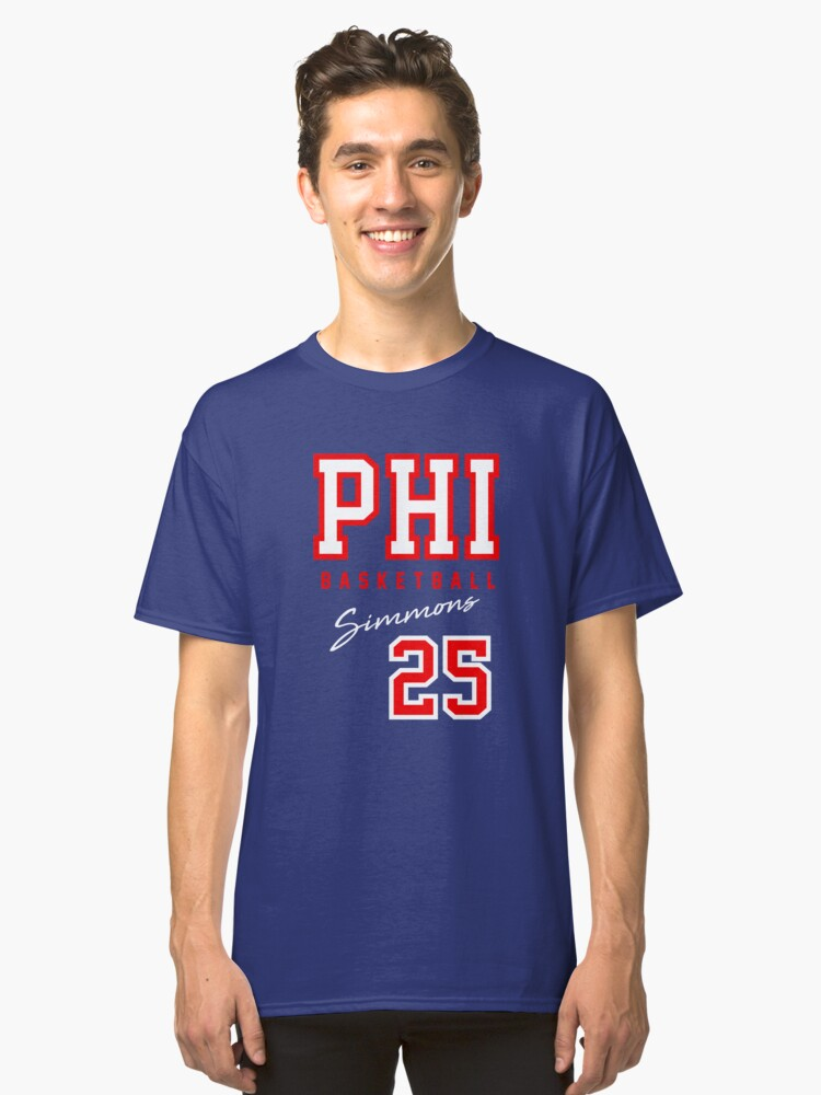 Simmons 25 Classic T-Shirt Front