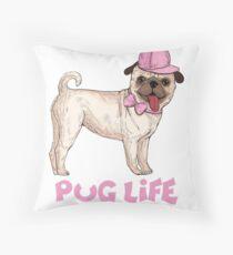 Cojín de suelo el mejor regalo de la vida del pug life.pug life funnyT-Shirt.pug