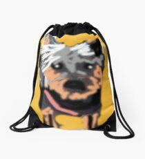 Punk Pupper Drawstring Bag