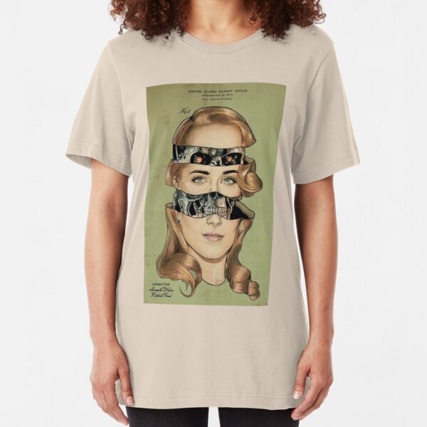 WESTWORLD - Inside Dolores Slim Fit T-Shirt