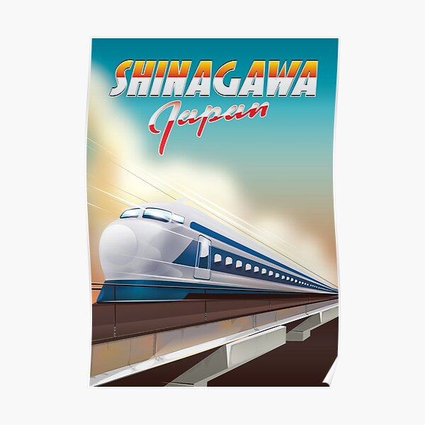 Bullet Train Posters Redbubble